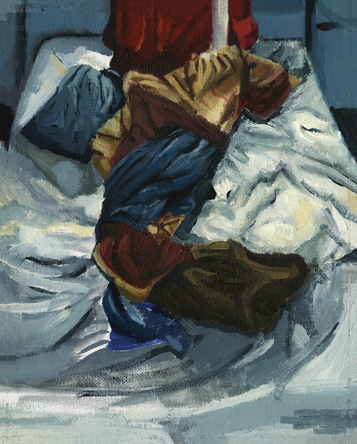 Self   Stevie Hale   Oil on Canvas