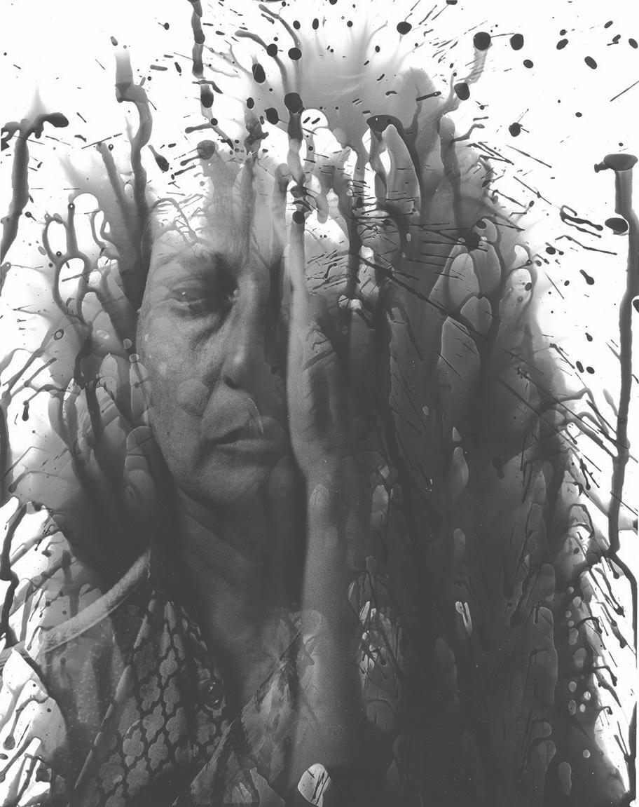 Running Tears   Tofik Khan   Silver Gelatin Print