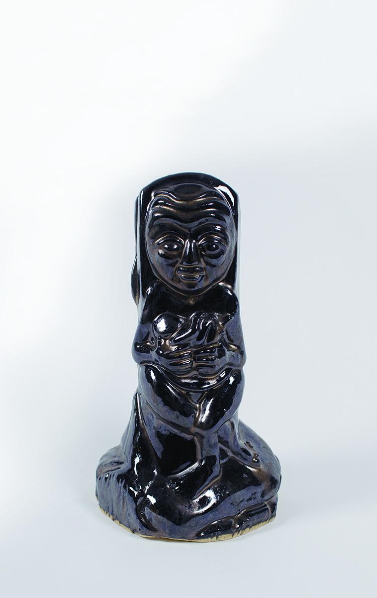 Fertility Goddess   Brenda Pereboom   Ceramic