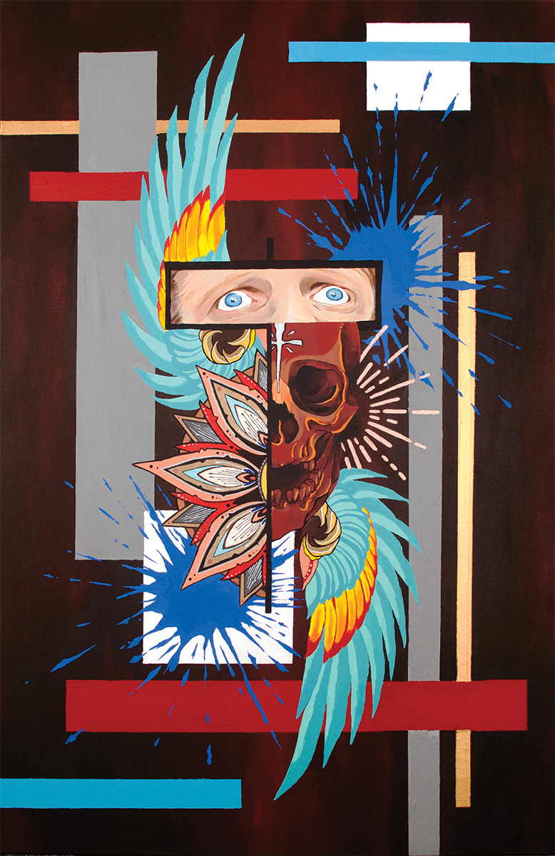 El Chingadero | Tyson Palmour | Acrylic on Canvas