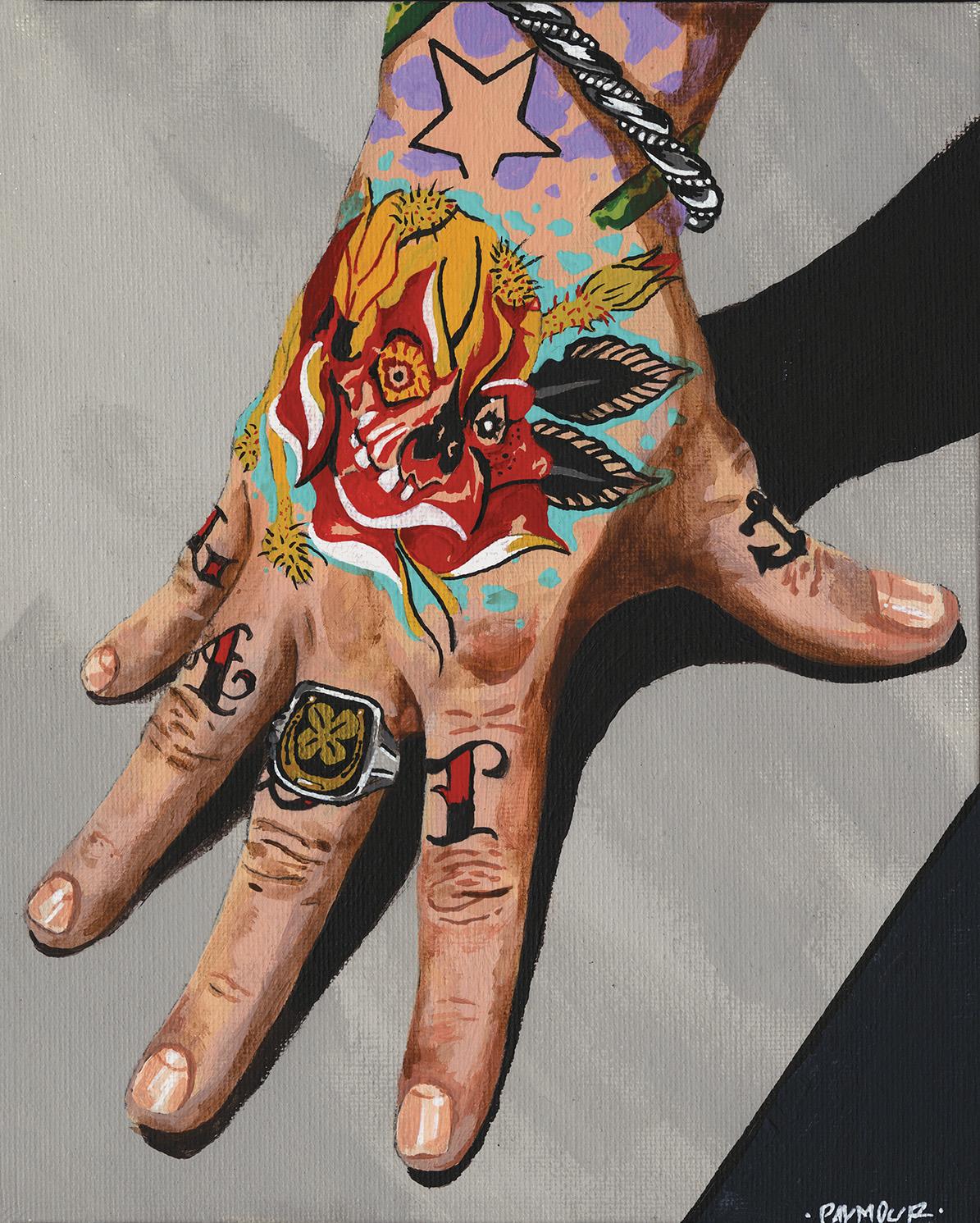 Idle Hand   Tyson Palmour   Acrylic on Canvas