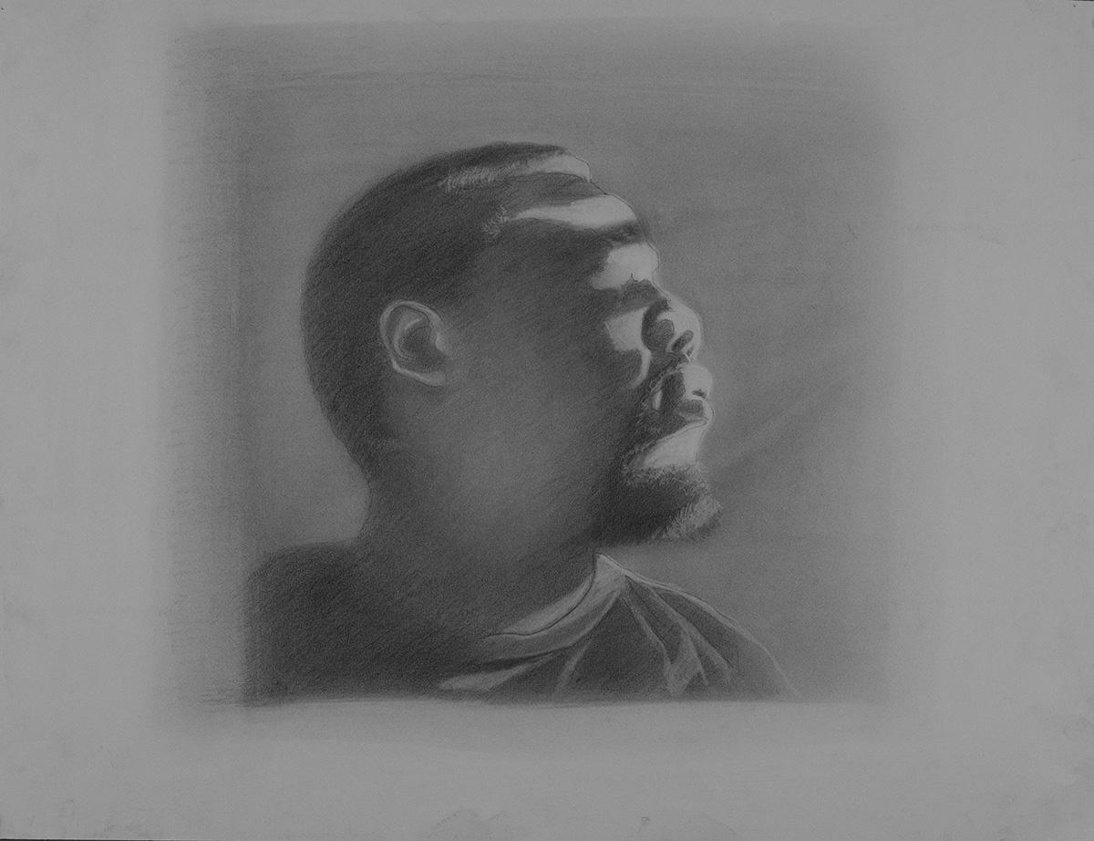 Let your Light   John Gasaway   Graphite Drawing