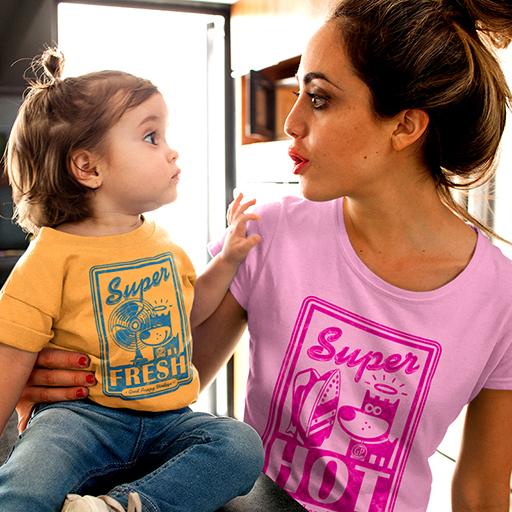 Child & Mom Whimsical Vintage Wear
