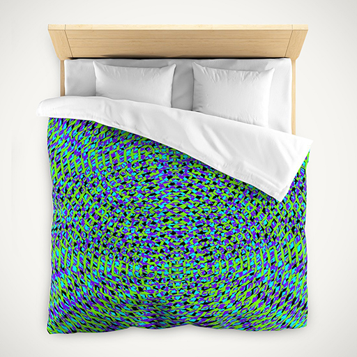 Bold Vibrant Colorful Geometric Duvet Covers