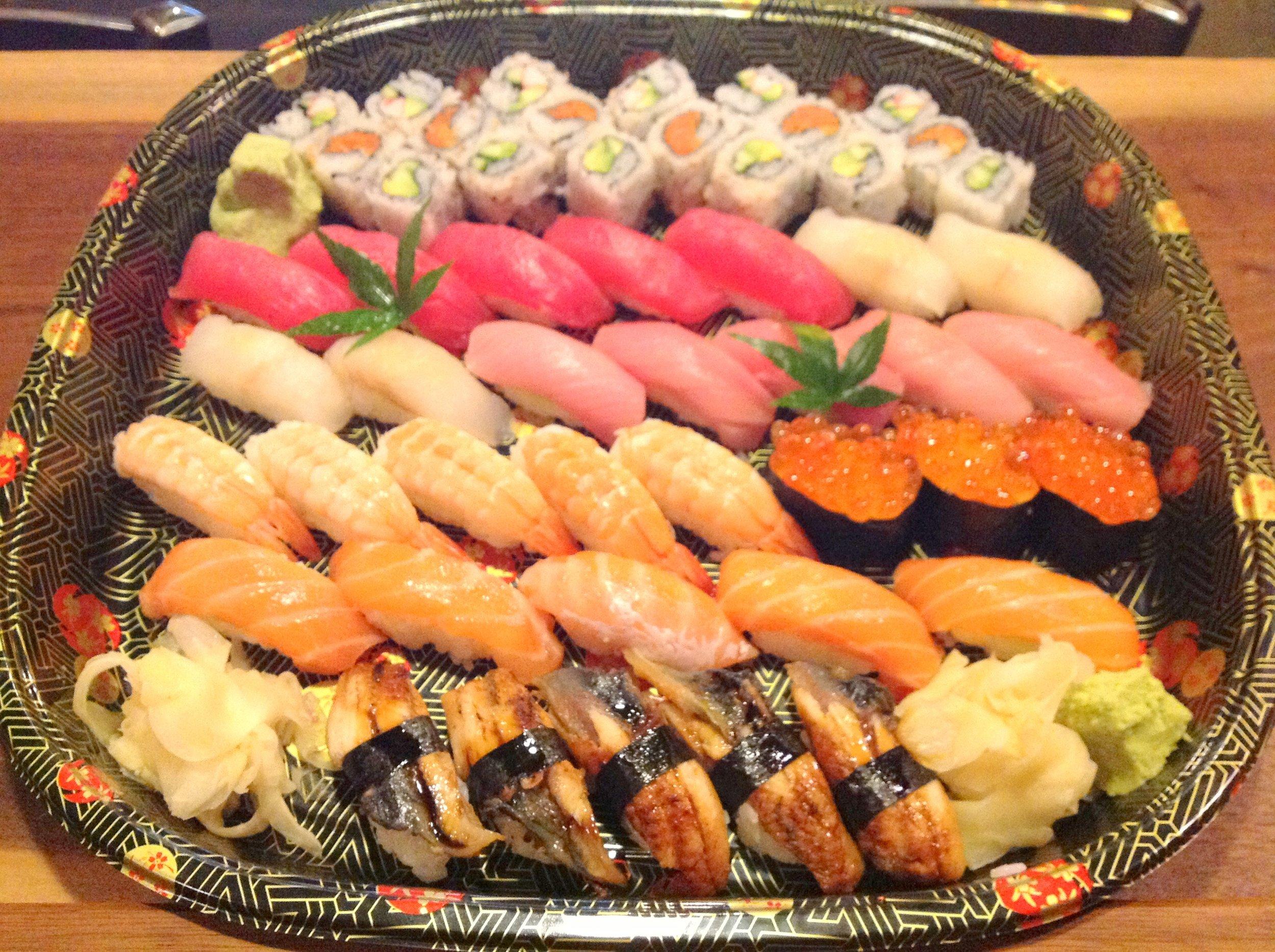 New Year Sushi Platter