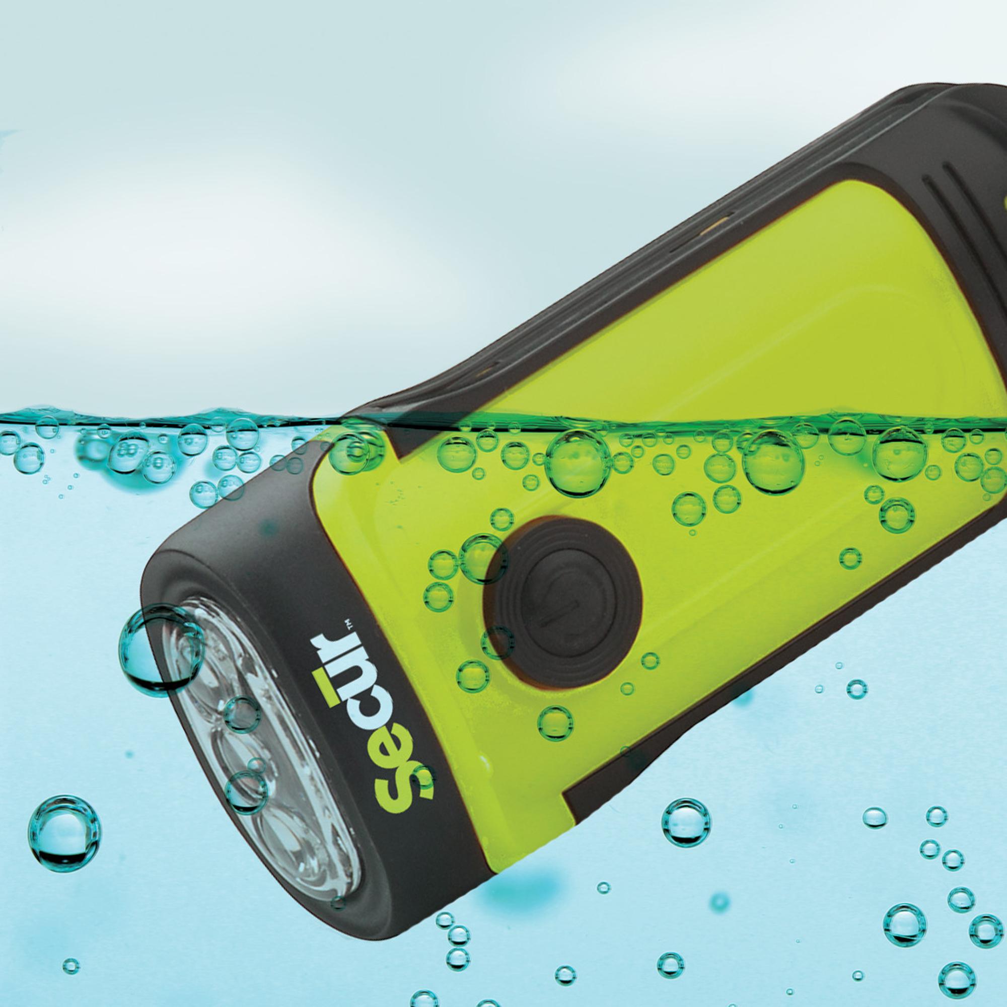 Waterproof to 45 Feet
