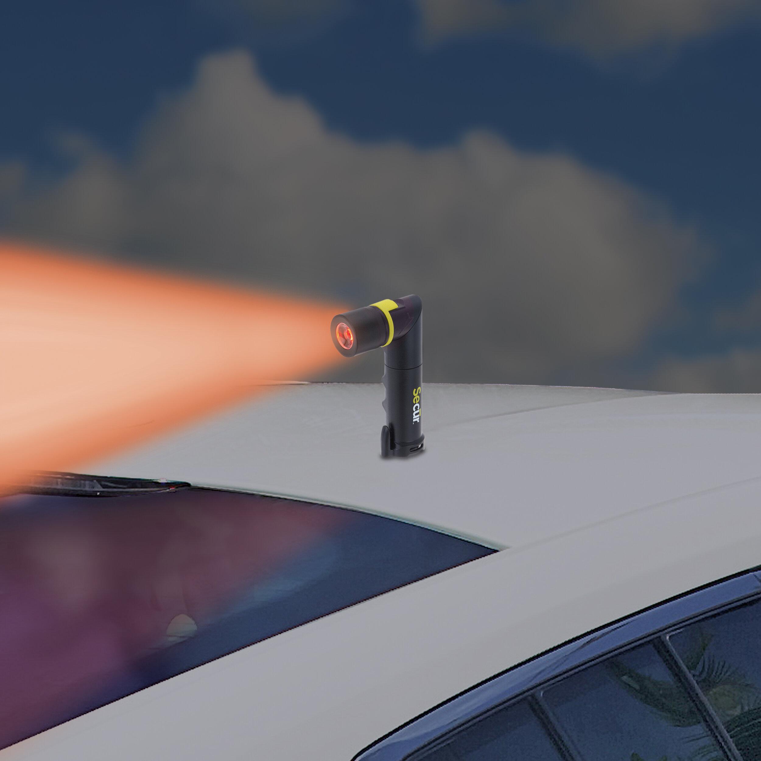 Flashing Red Emergency Light