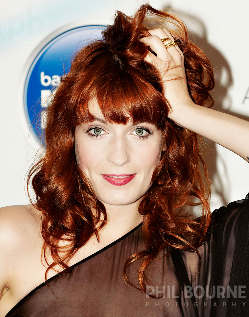Florence Welch - Press event shoot