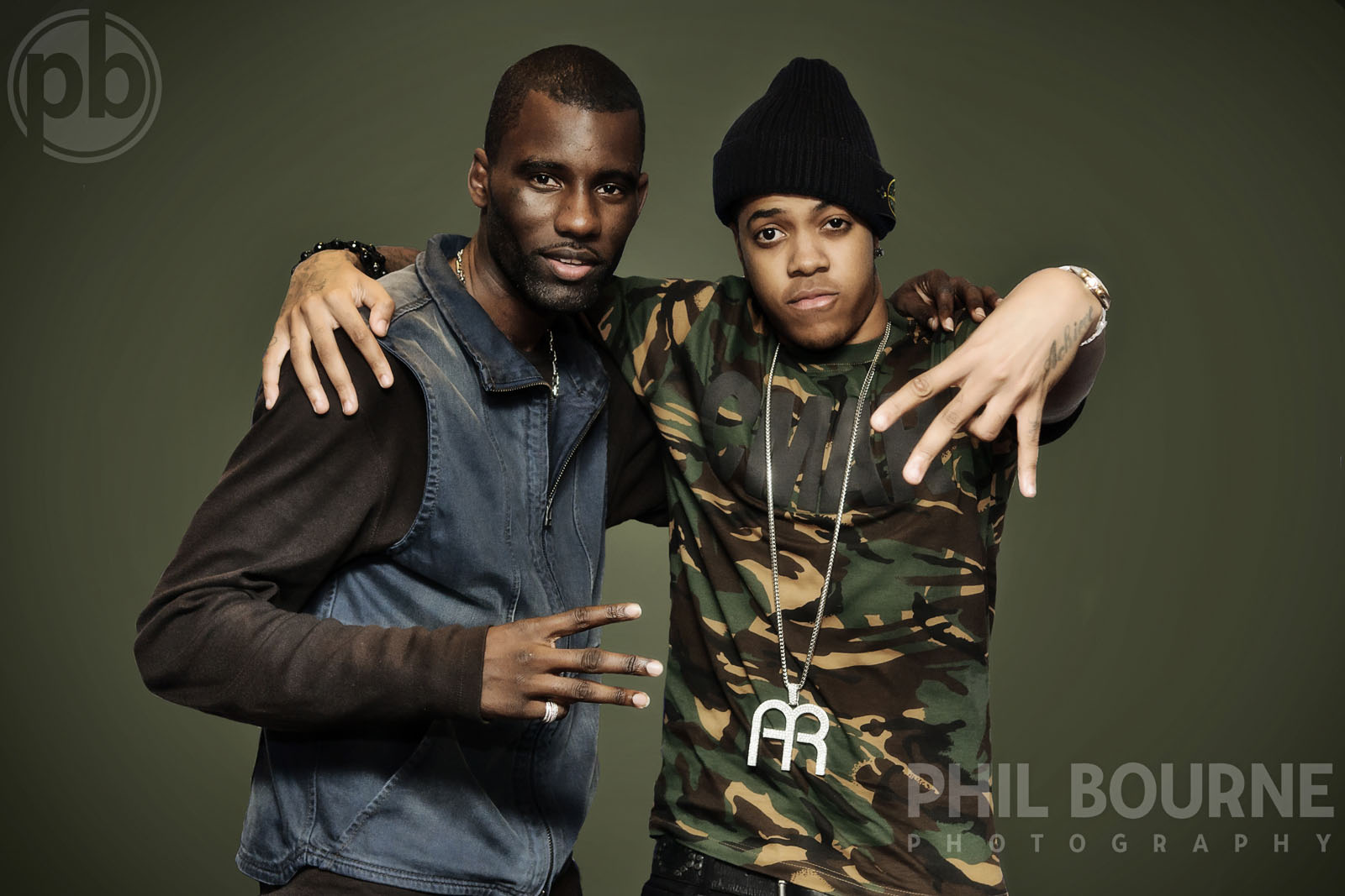 Wretch 32 and Chipmunk - Editorial shoot