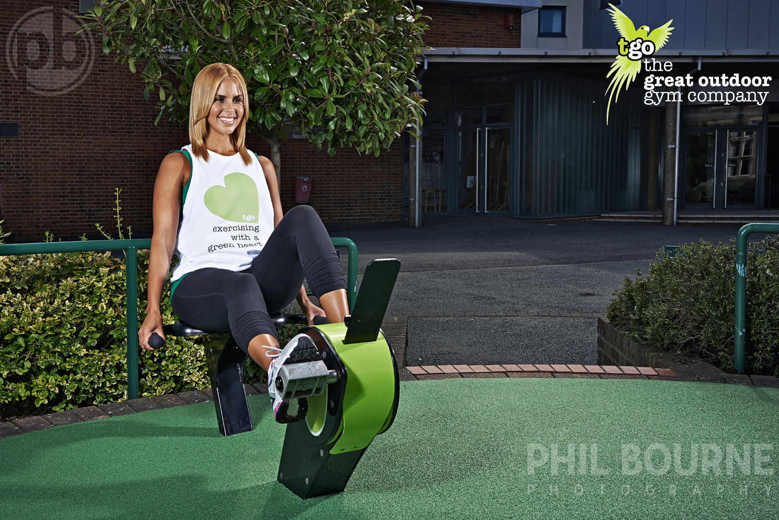 The Great Outdoor Gym Company campaign shoot