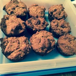 sweet potato apple muffins 1