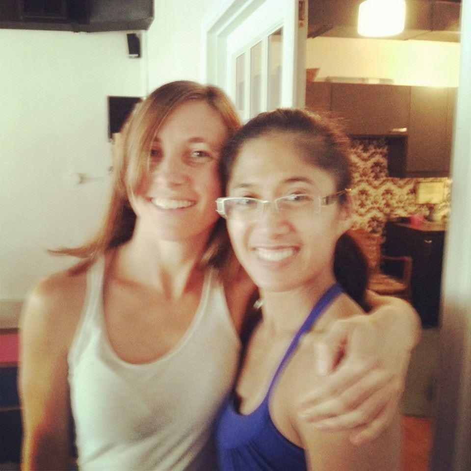 Jenn and Fran