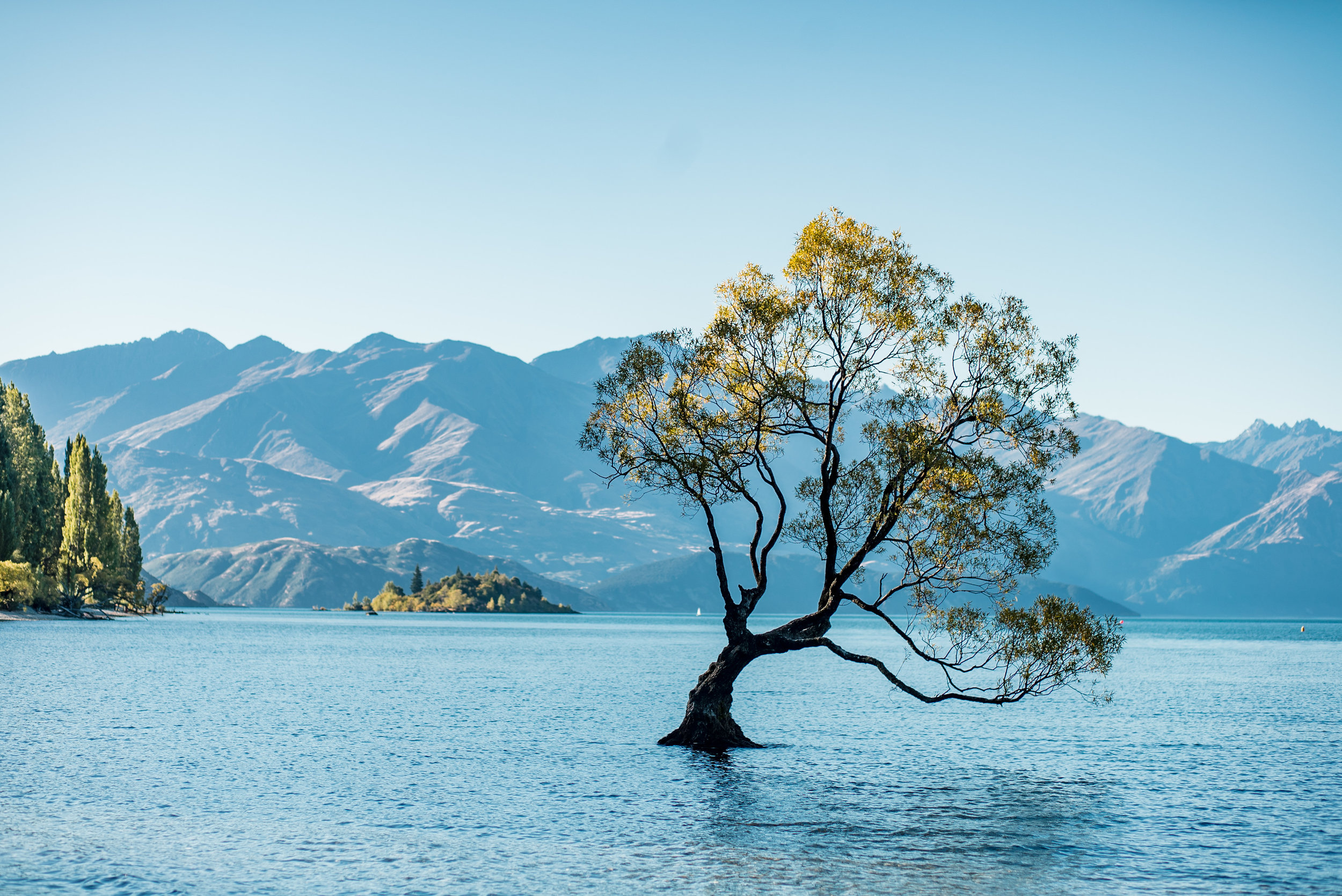 WANAKA - Three days exploring deep blue lakes surrounded by mountains.