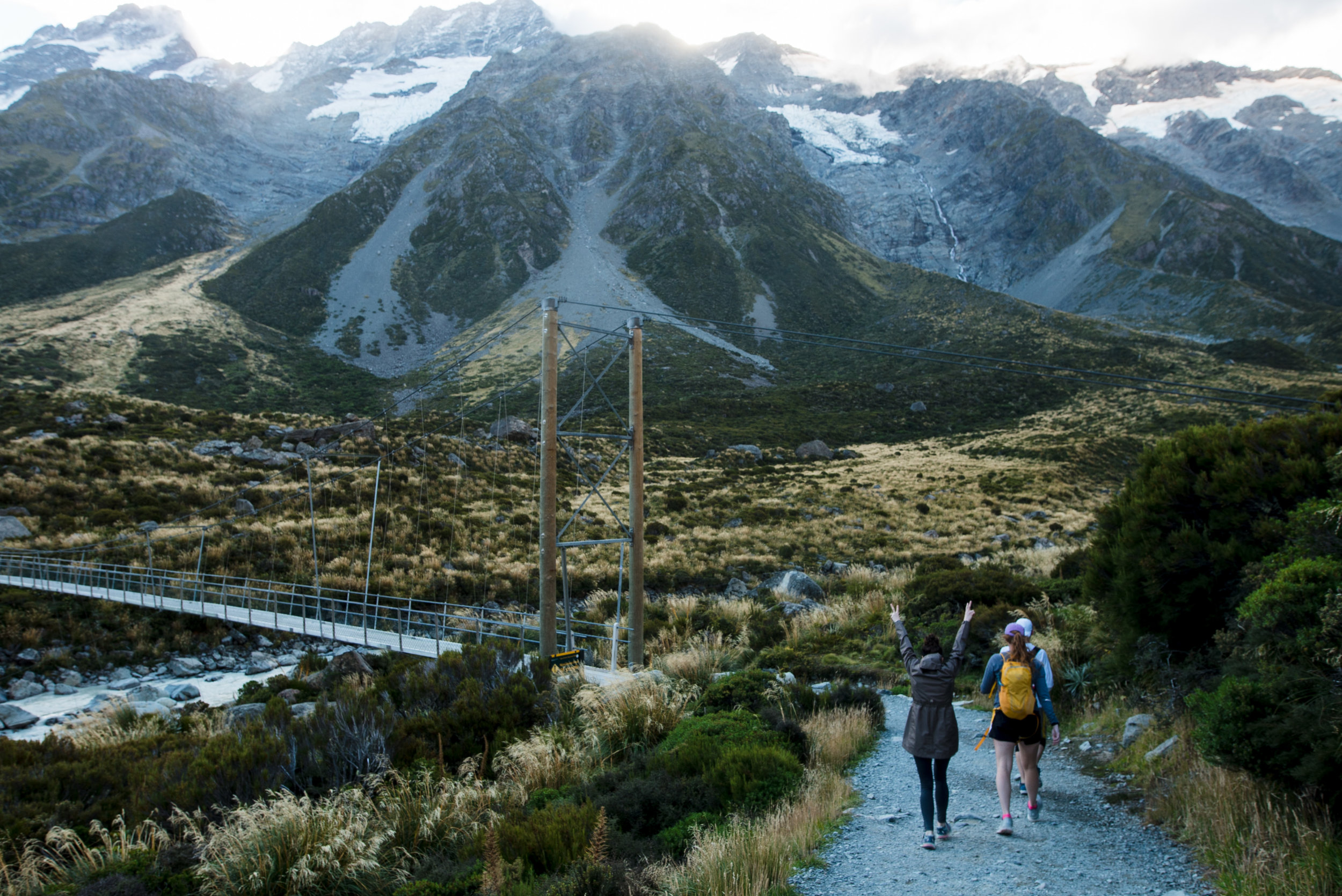THE HOOKER VALLEY TRACK -