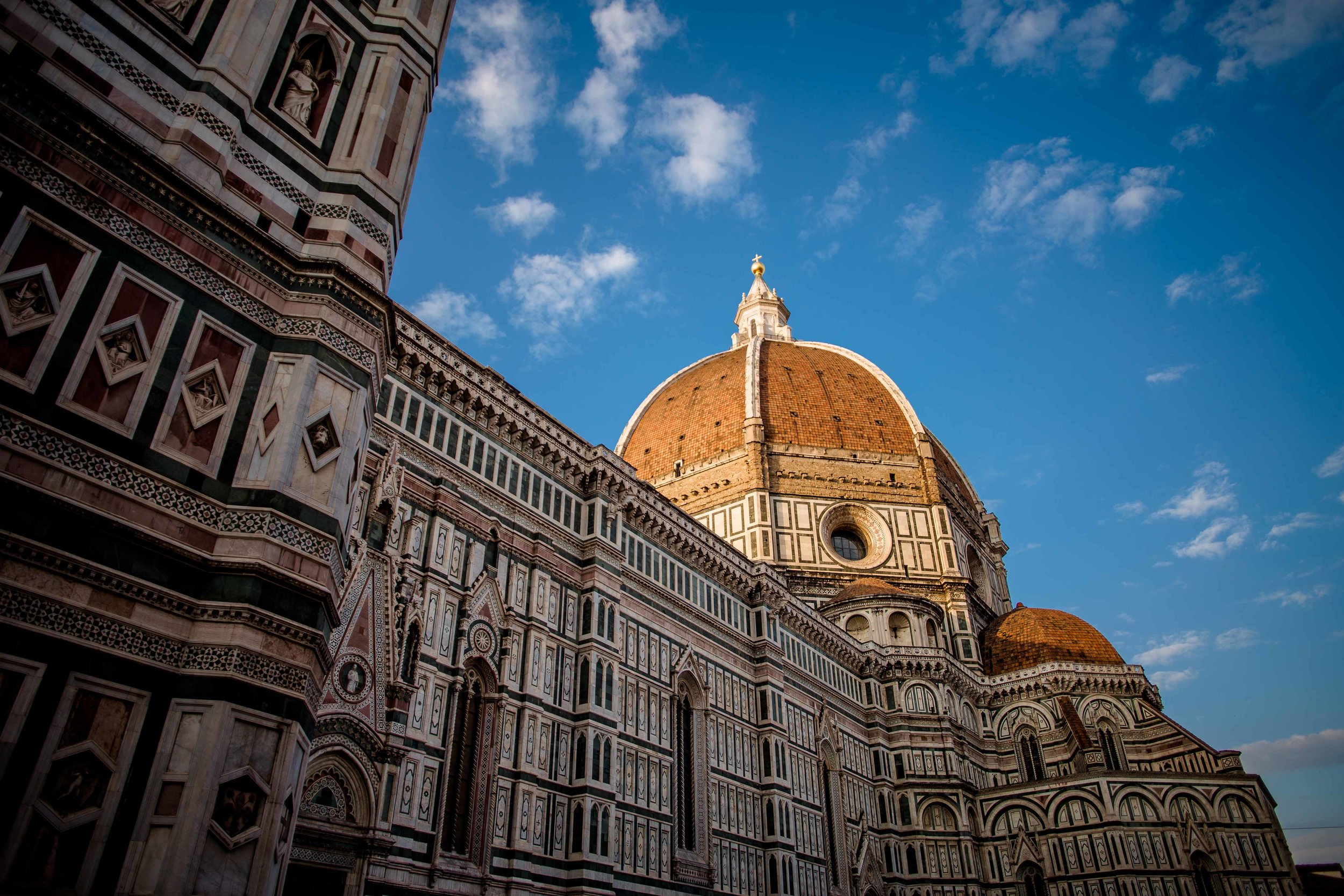 We went to Italy on our honeymoon. It was my first experience with international travel. Something about that experience got me hooked.