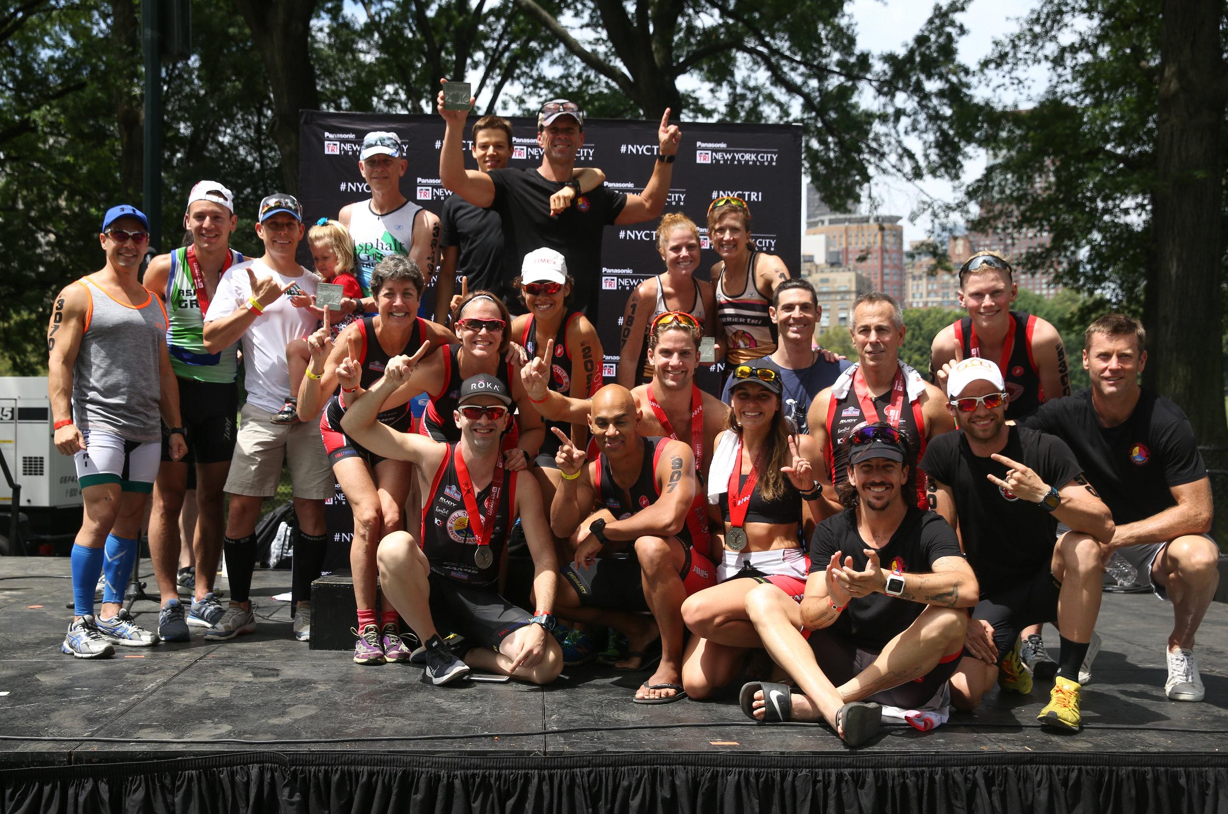 Your 2016 New York City Triathlon Team Champions