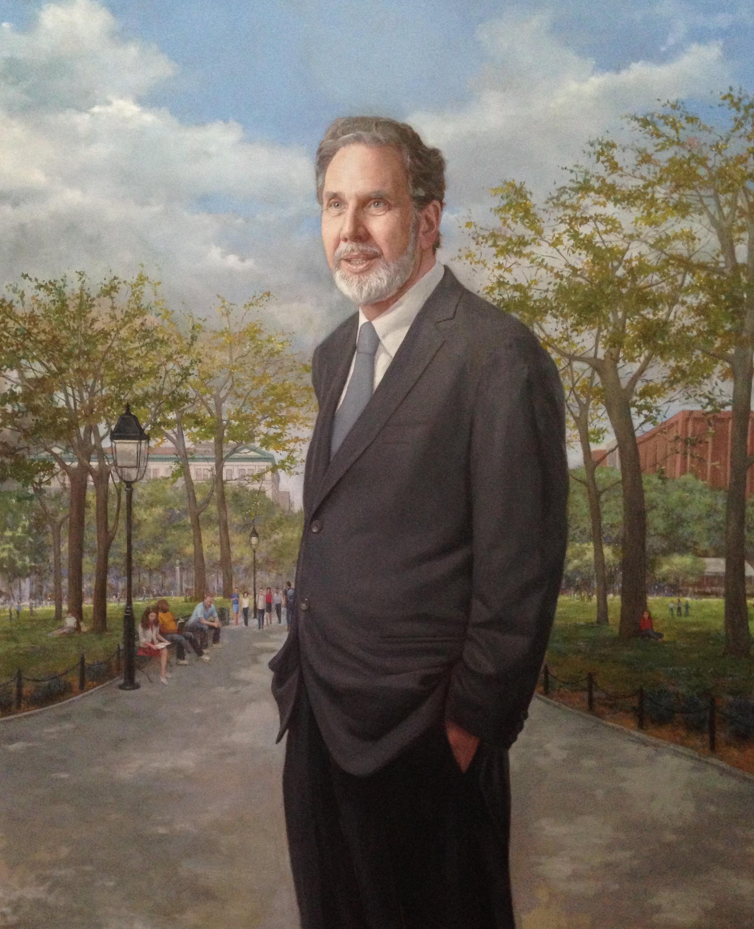 John E Sexton, President Emeritus, NYU