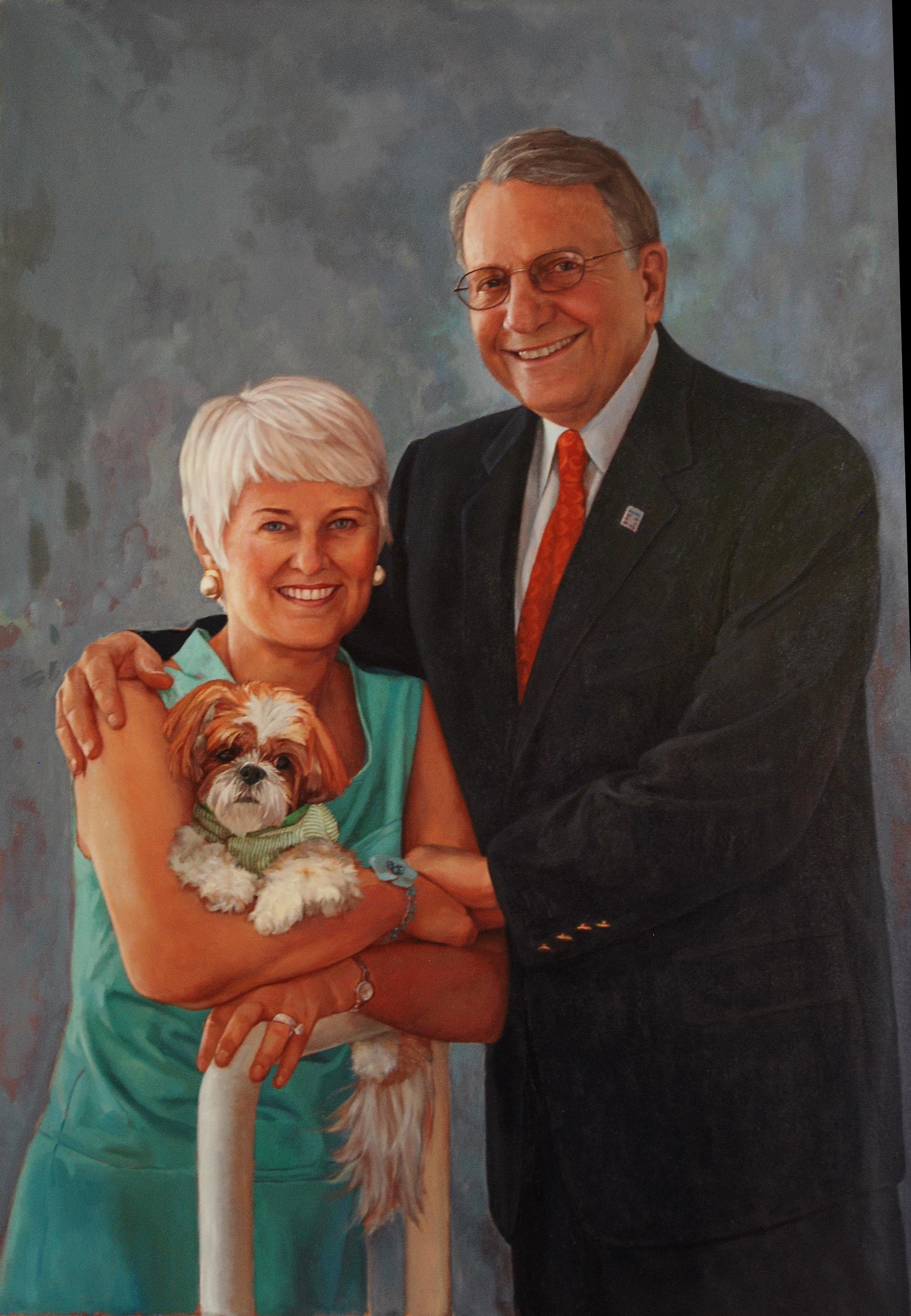 Jay and Patti Baker, Trustee Portrait