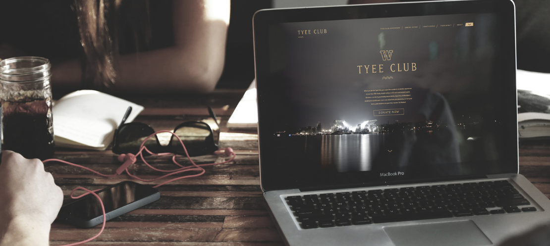 TYEE CLUB - ART DIRECTION Concept