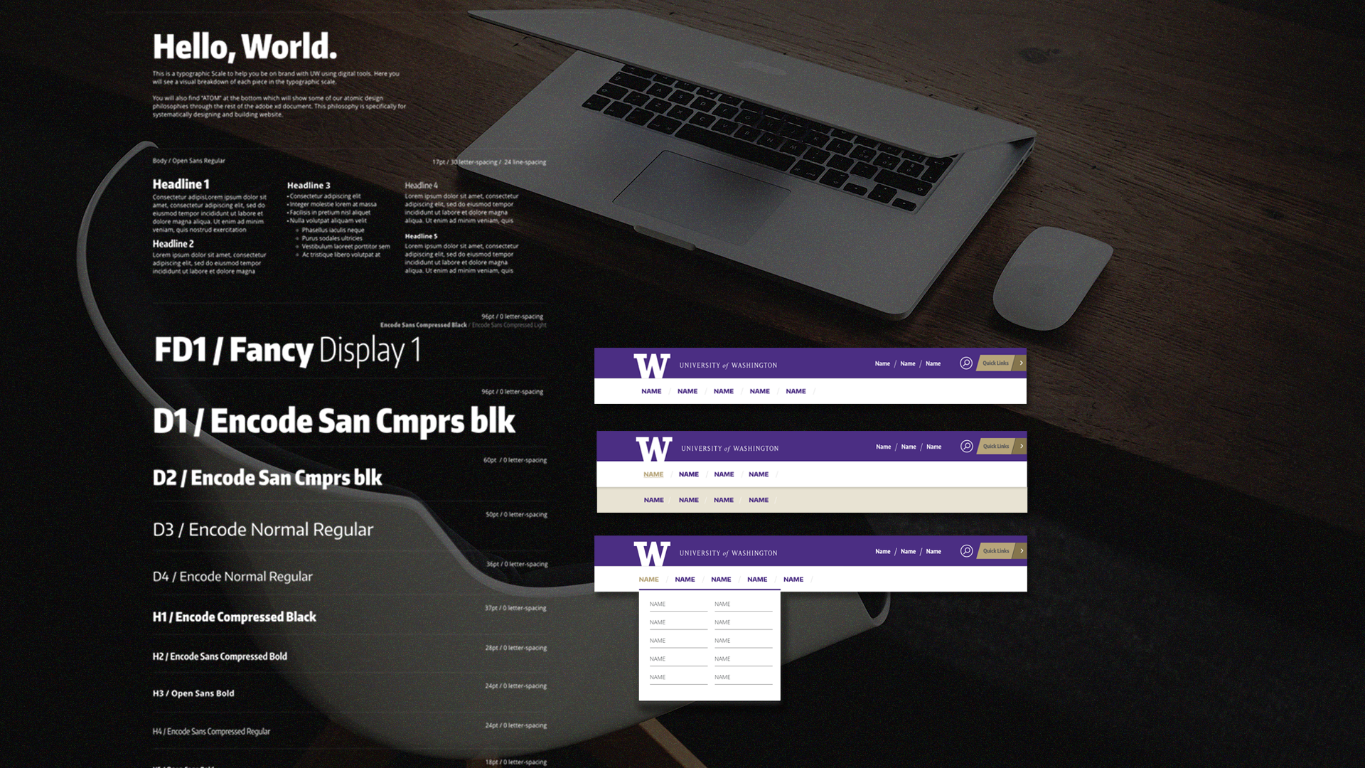 Designed for campus wide - Setting the standard for campus wide digital products