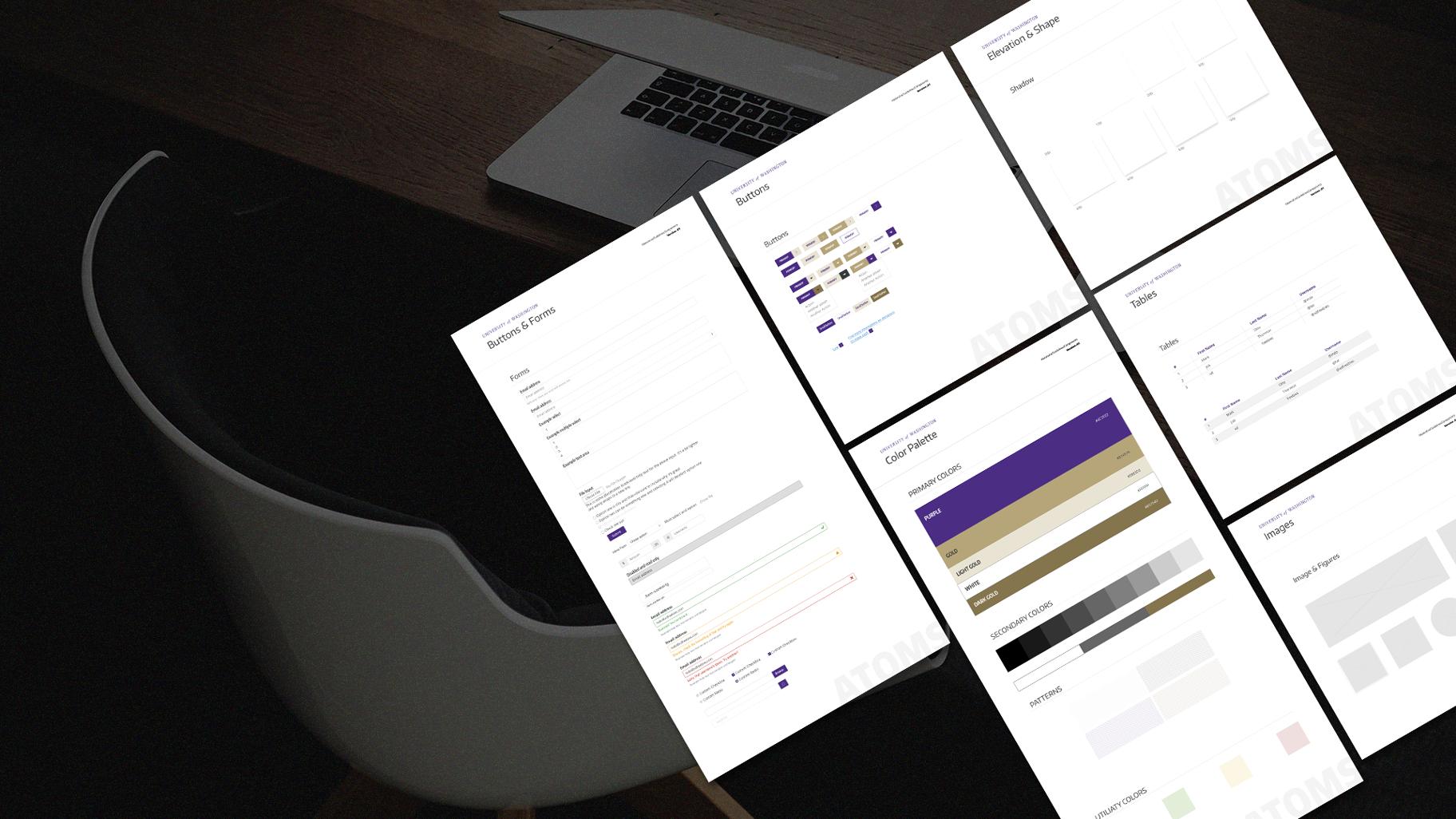 UW'S material design - PRODUCT DESIGN & UI DESIGN