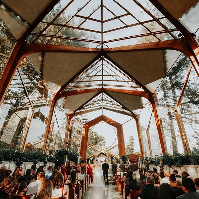 Eric says I need to post 👏🏼 every 👏🏼 day 👏🏼 but in my heart I want to take my time deciding what to post, and make sure it reflects my brand.  Does anyone else feel the struggle?  Also take me back to this magical glass chapel. ✨