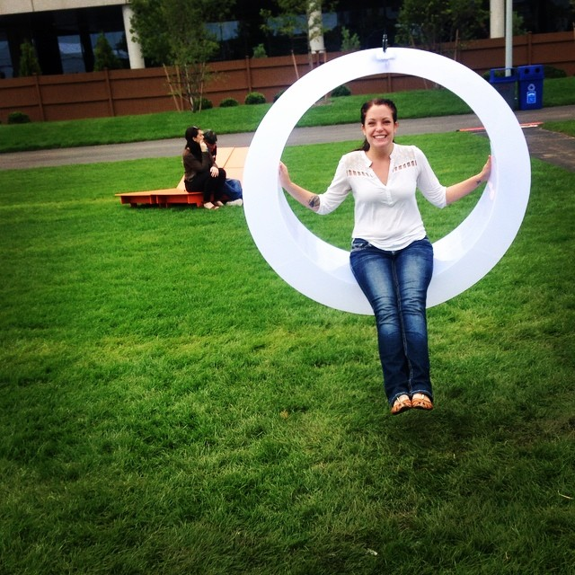 Did we mention there'll be glow-in-the-dark swings!? (Photo by: Krysta Voskowsky)