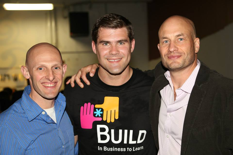 (Left to right)  Coach  Erik Hajer,  Evertrue  CEO Brent Grinna, and TUGG Founder Jeff Fagnan.