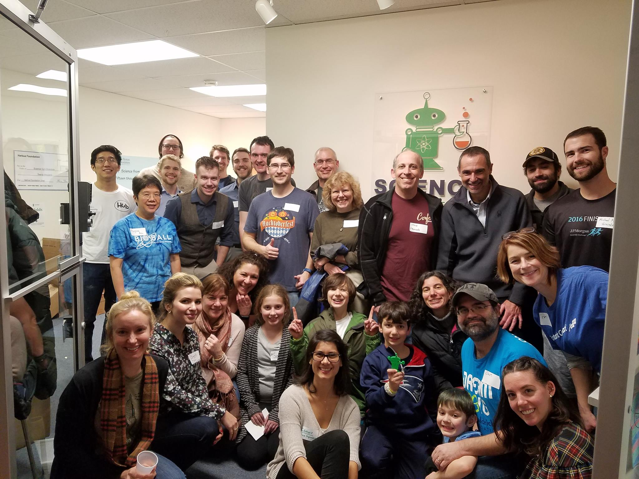At Science from Scientists for a TUGG It Forward Evening of Service, a quarterly volunteer program we established in 2017.