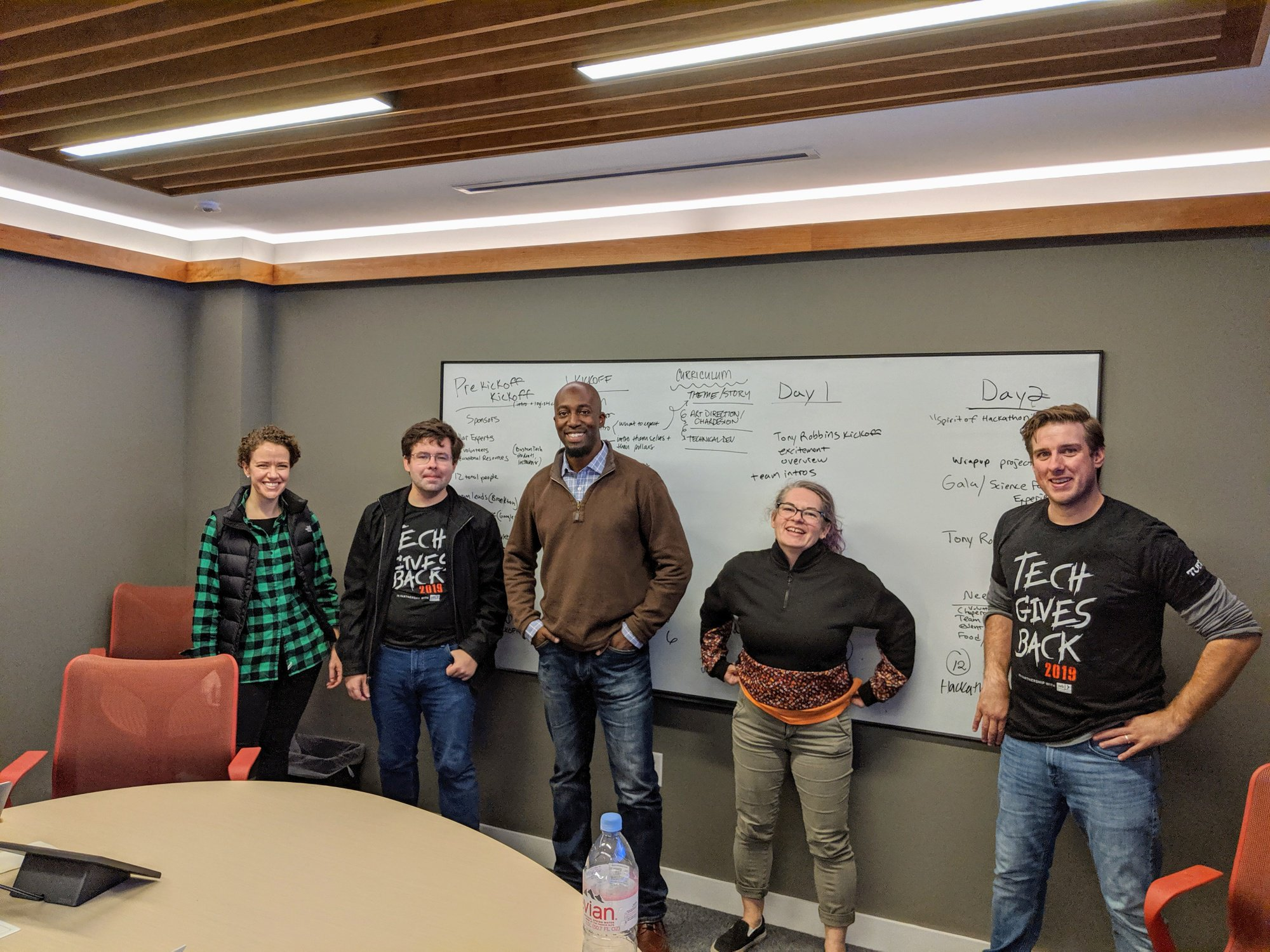 TUGG, Fairmarkit, and Asics Digital Hackathon for KodeConnect, a nonprofit based in Brockton