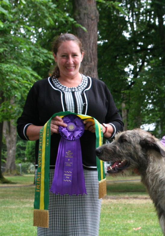 Lisa Dube Forman, Irish Wolfhound Club of Puget Sound 2010