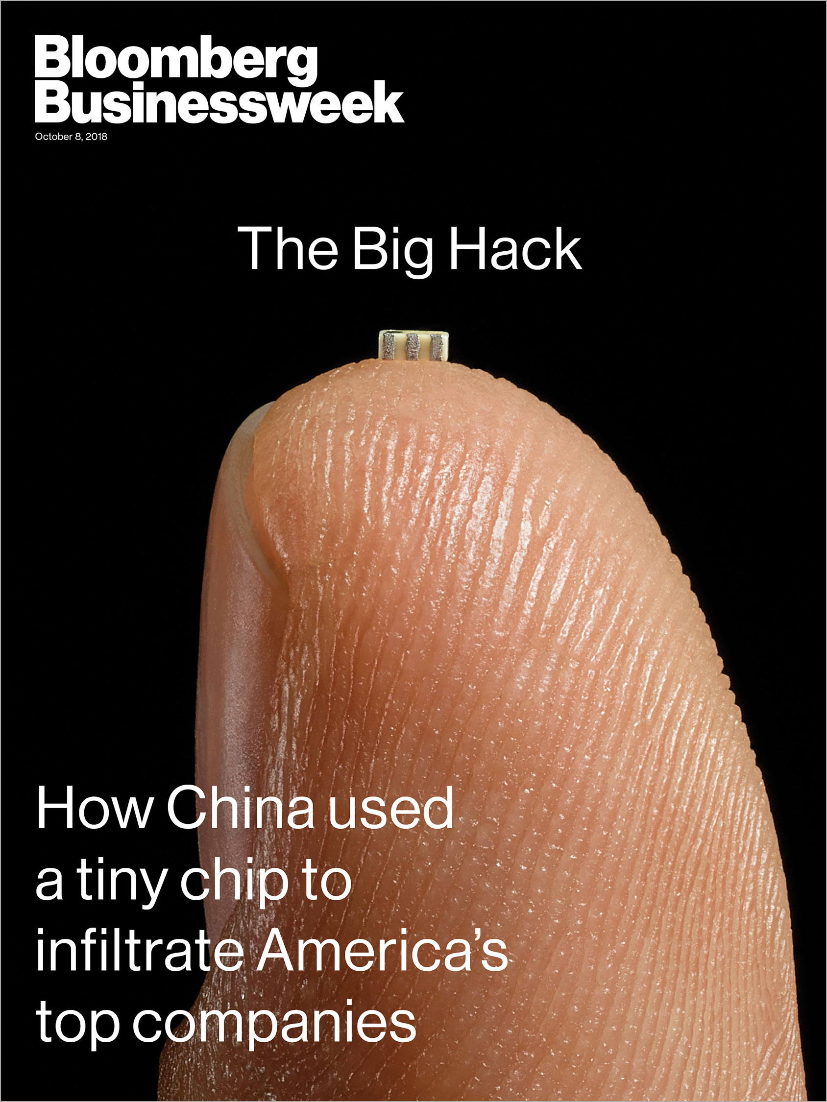 Bloomberg Businessweek - Cover Story 'The Big Hack'