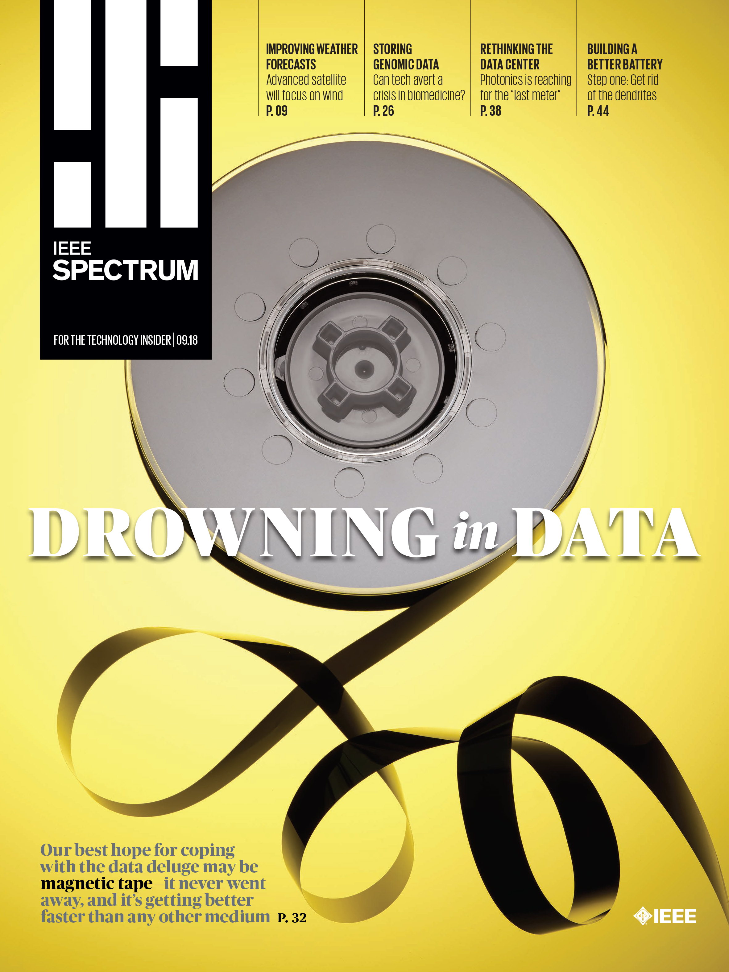 IEEE Spectrum - Cover Story 'Drowning in Data'