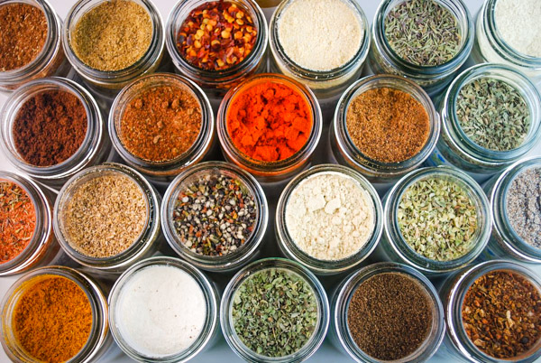 Many different kinds of herbs and spices can provide unique flavors and scents to incense