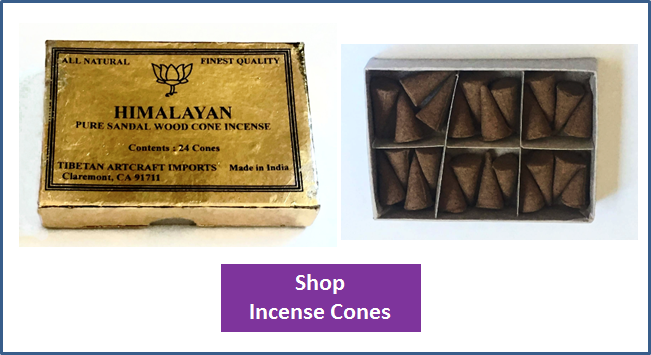 Incense Cones — Incense Boutique
