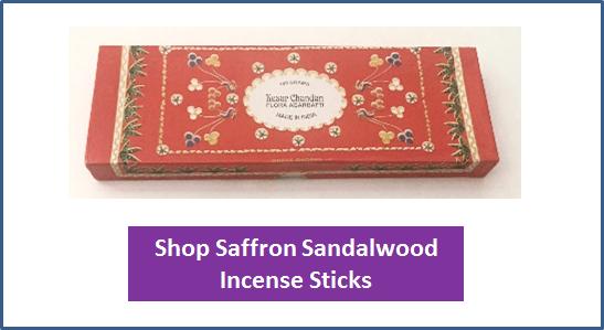 saffronsandalwoodincensesticks