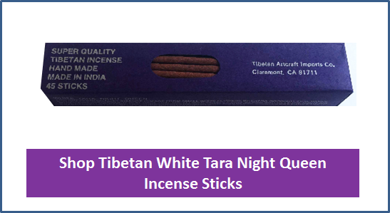 White Tara Night Queen