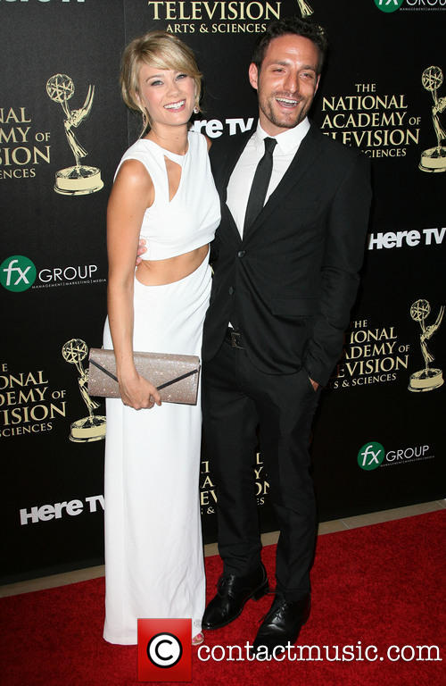 Ben & Kim Matula at the 2014 Daytime Emmy Awards