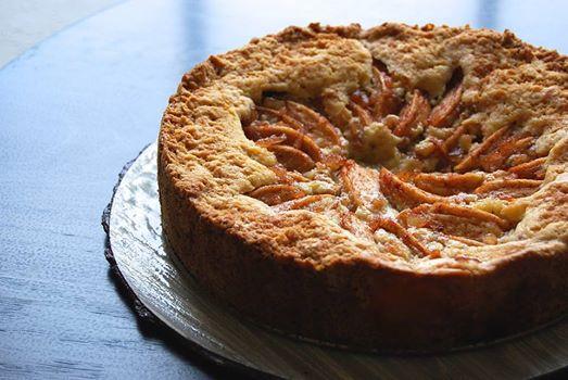 apple ginger cake