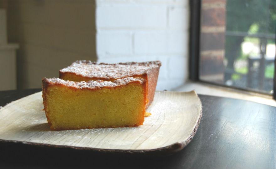 lemon almond tea cake