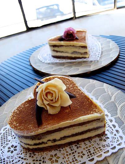 chocolate orange tiramisu cakes with grand marnier