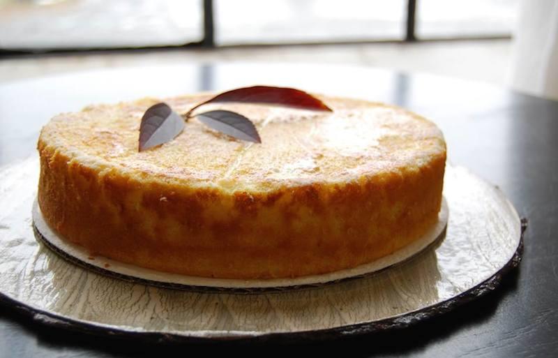 fresh yuzucustard cake