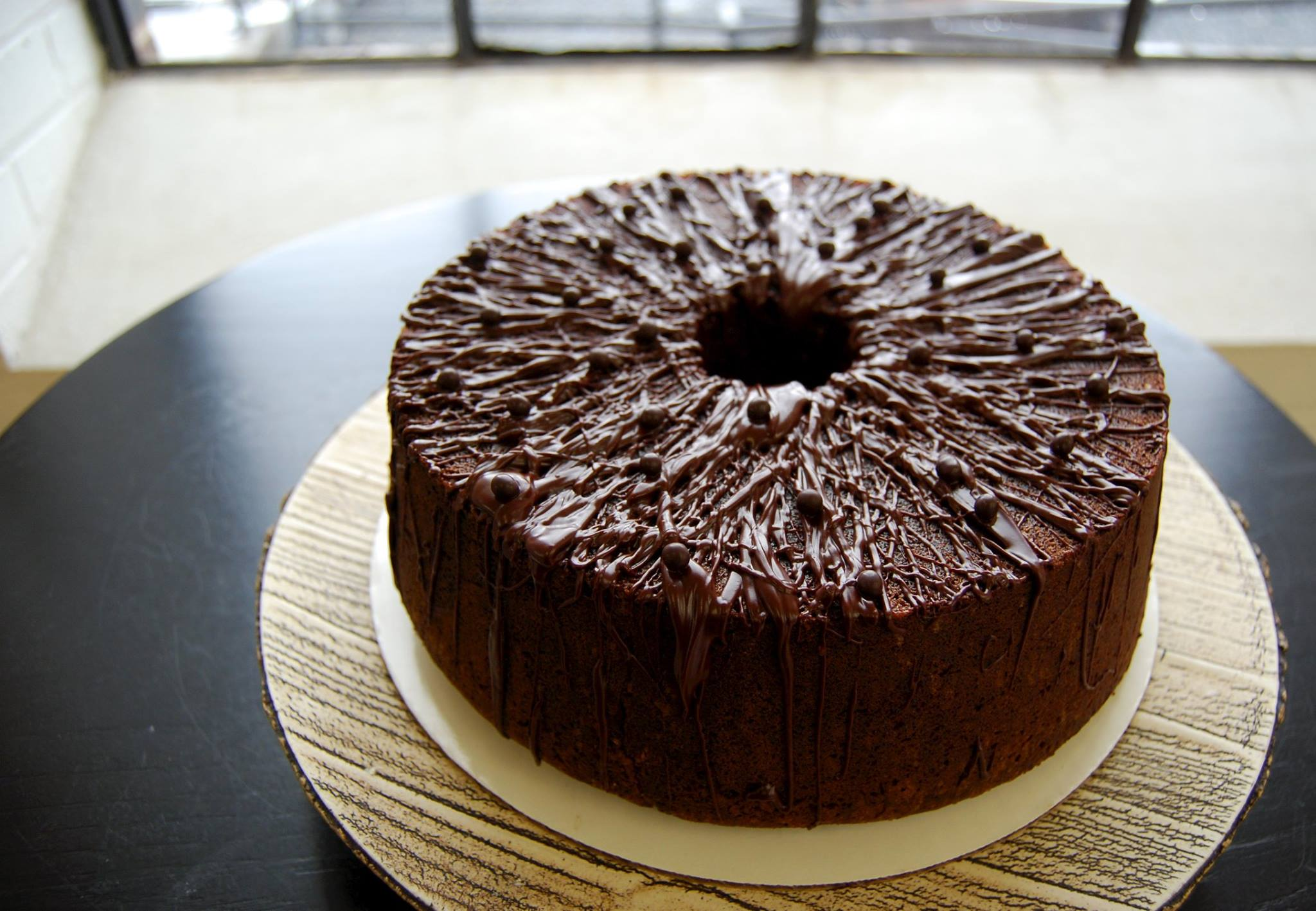 cocolate brown sugar pound cake