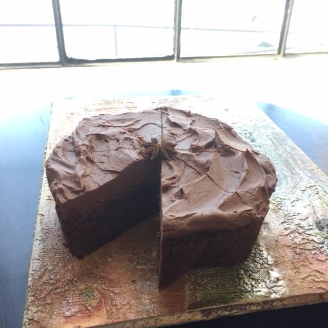 dragon devil's food cake