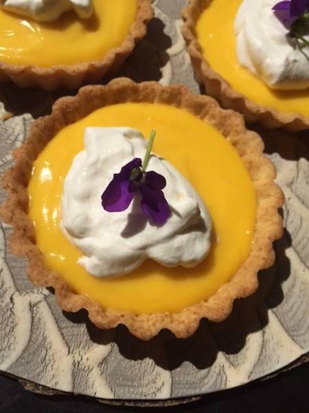 sunny lemon tart
