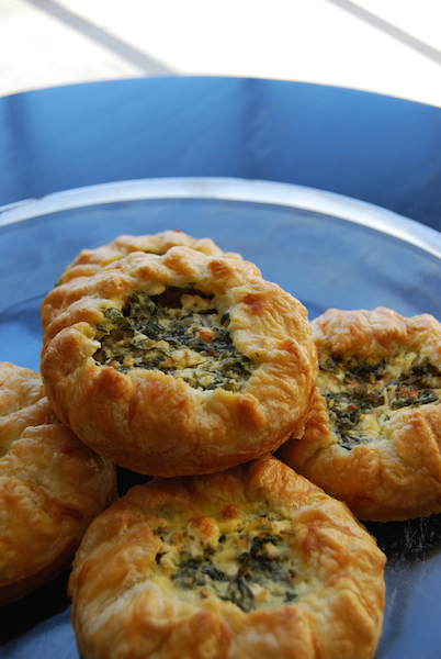 greens and feta pie