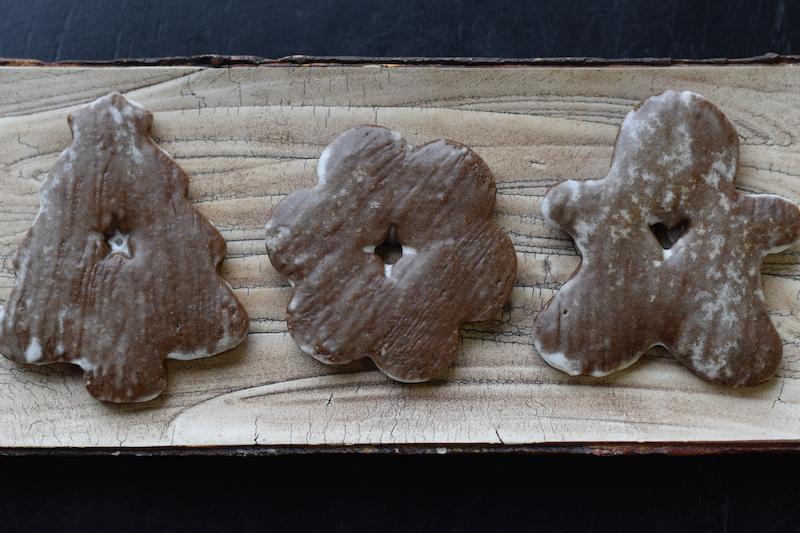 glazed gingerbread