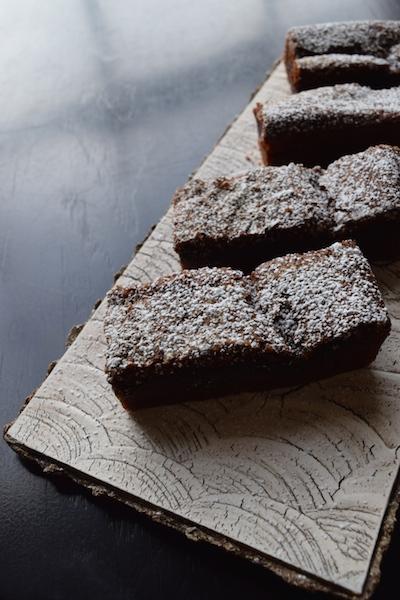 chocolate mochi cake