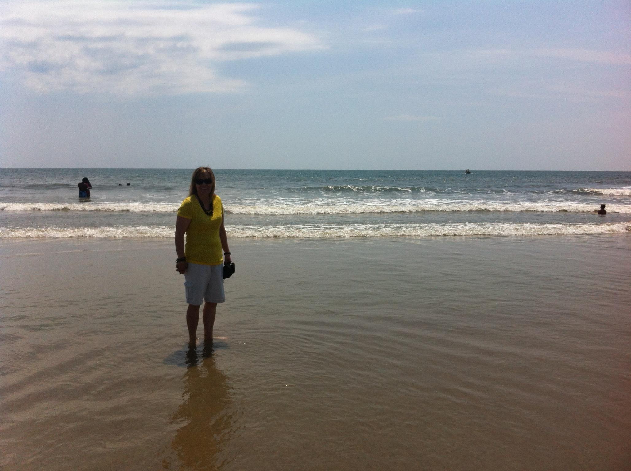 Doreen in the Atlantic Ocean
