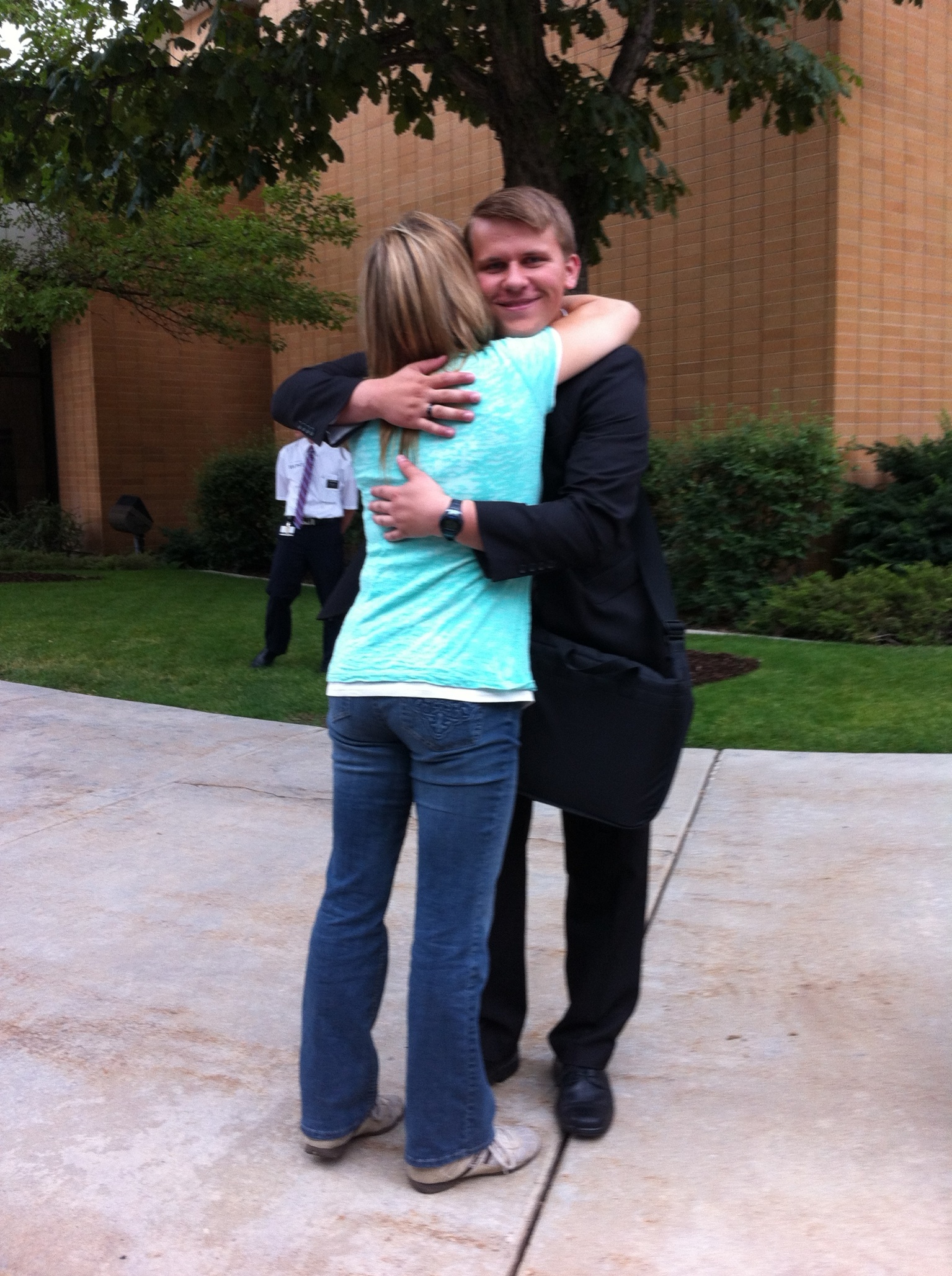 The last hug!